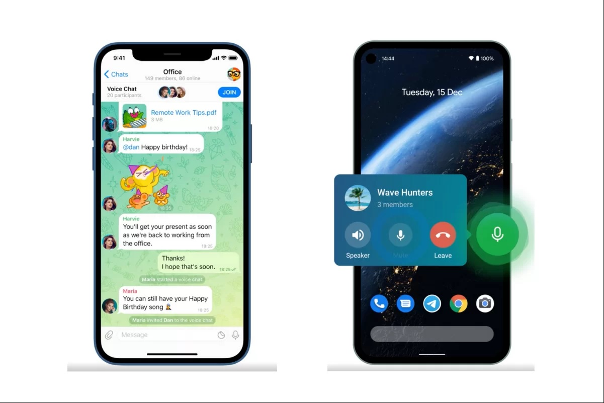 روکیدا | آپدیت جدید تلگرام چه قابلیت های جذابی را ارائه می کند؟ |