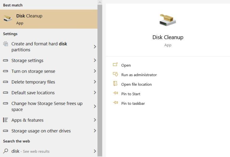 نحوه حذف فایل های بکاپ برنامهها در ویندوز 10 چطور است؟