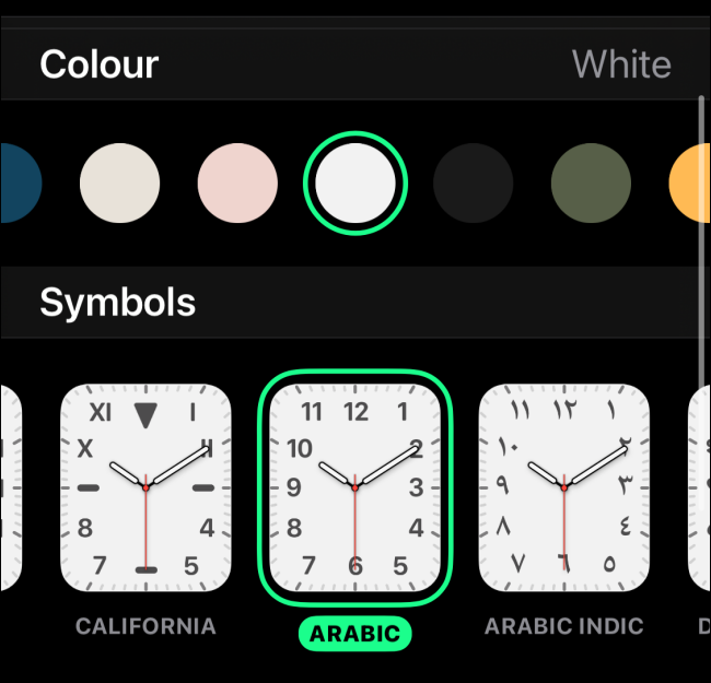 Customize the Watch Face 1
