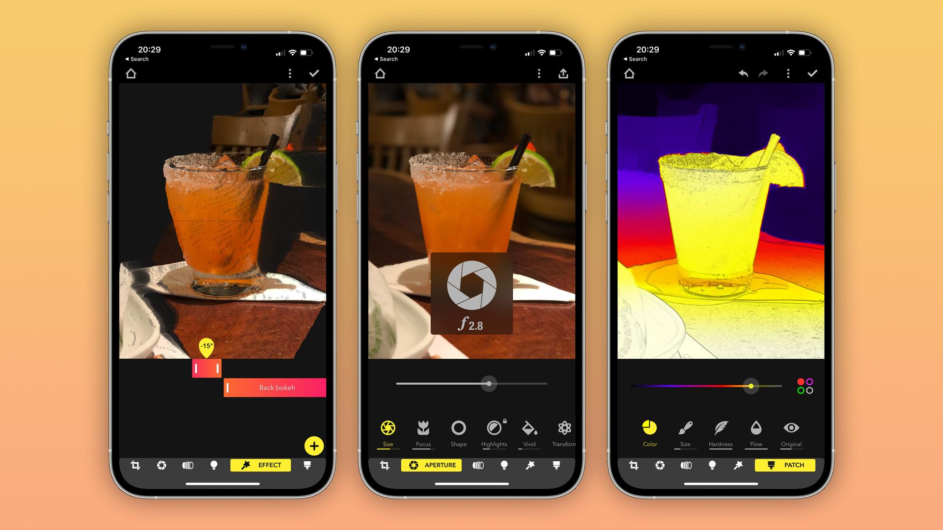 Focos iOS app