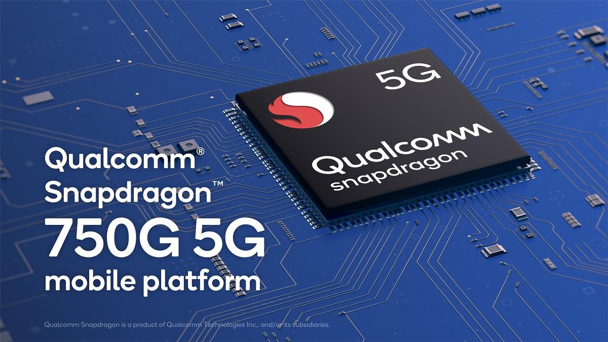 Qualcomm Snapdragon 750G 5G Mobile Platform Graphic 5G badge 300dpi