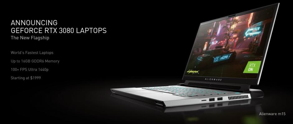 ورود سری RTX 3000 انویدیا به دنیای لپ تاپ ها: قدرت در دستان شما