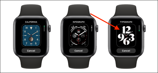 Tap The Watch Face to add it to Apple Watch 1