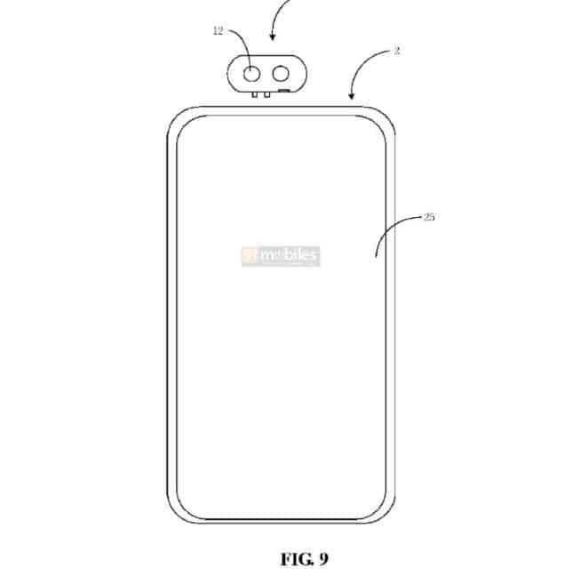 Xiaomi detachable camera Patent 6