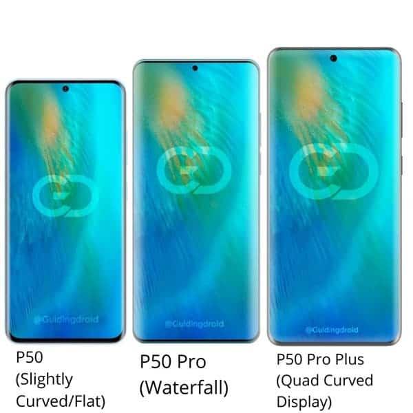 سری P50 هوآوی: سه تلفن همراه و سه نمایشگر متفاوت