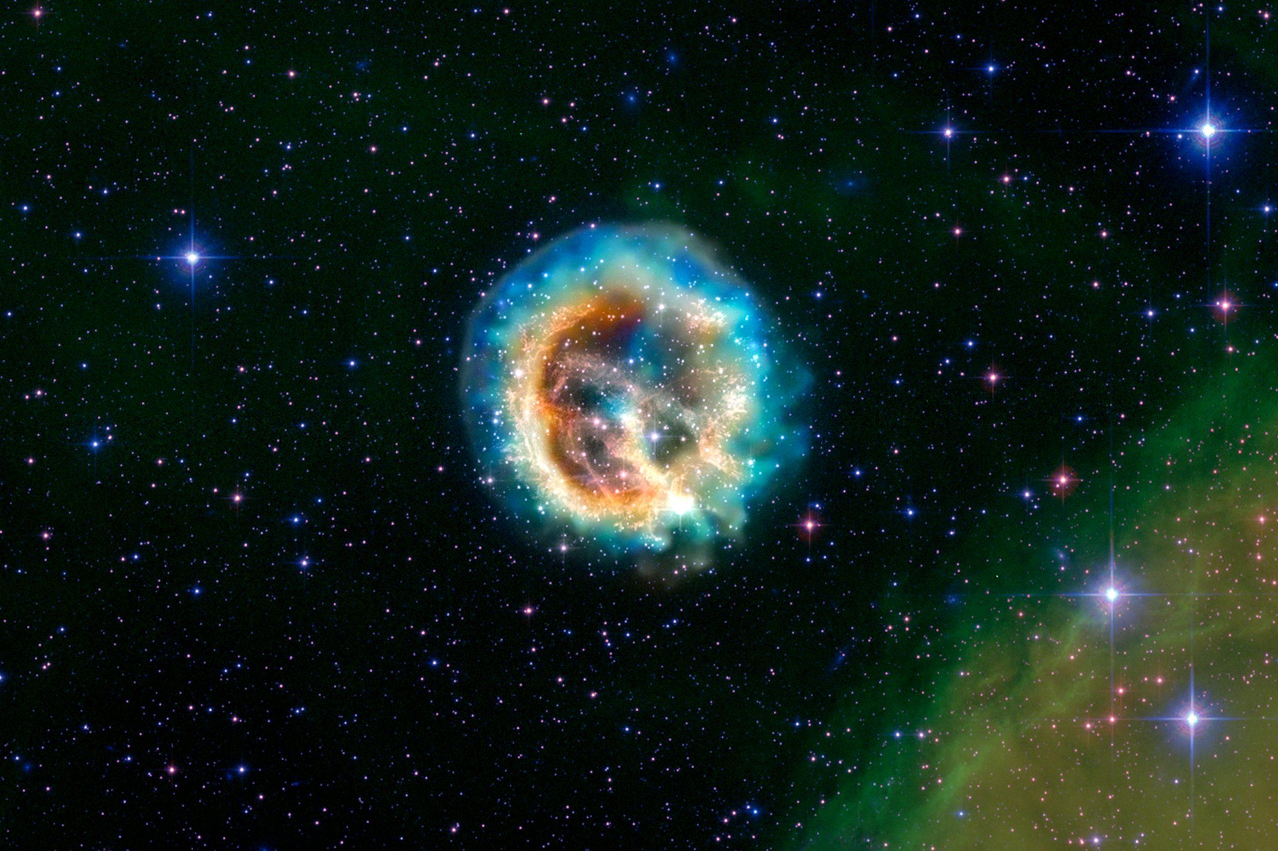 مرگ یک ستاره: آرام ترین، زیبا ترین و بدترین