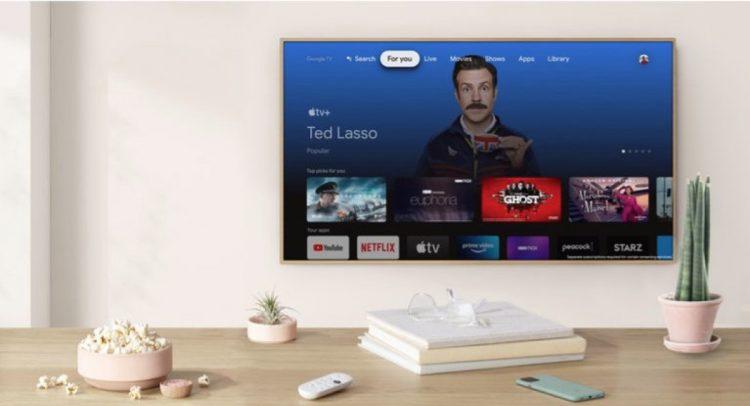 برنامه Apple TV اکنون در Google TV در دسترس است