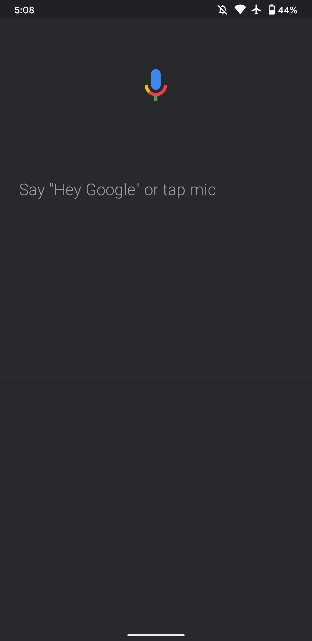 جستجوی صوتی گوگل