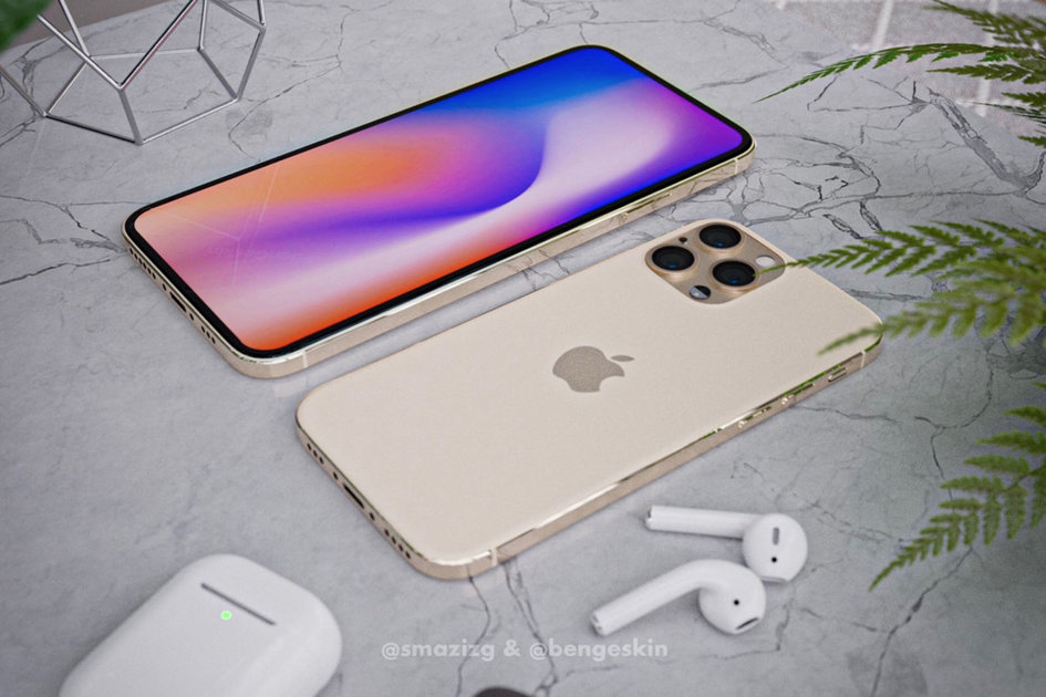 149566 phones news latest apple iphone 12 renders show no notch for the pro models image1