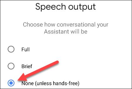 خاموش کردن speech 5