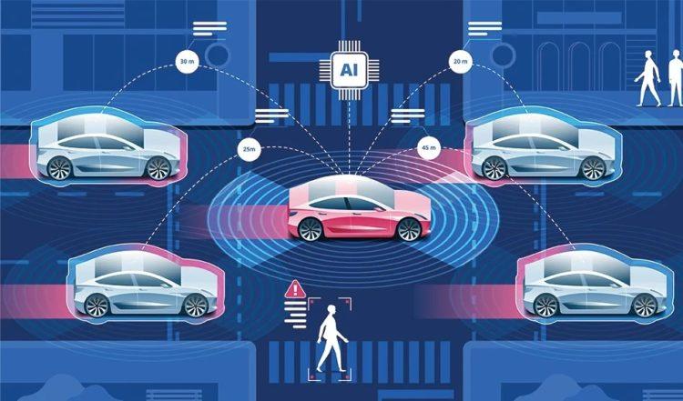 سنسور LiDAR برای خودروهای خودران اپل