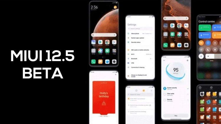 آپدیت جهانی MIUI 12.5 برای گوشی های شیائومی