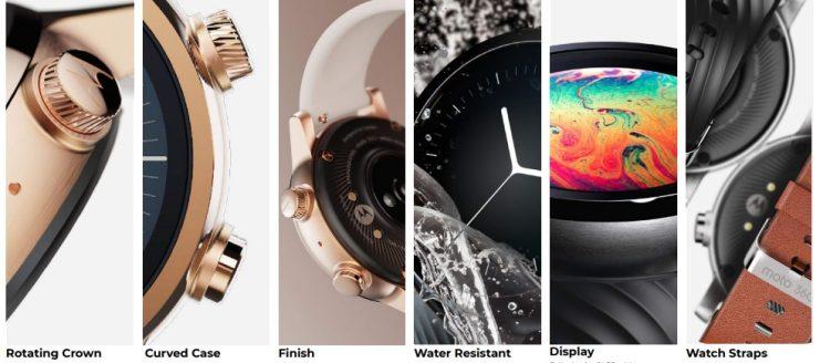 ساعتهای هوشمند موتورولا
