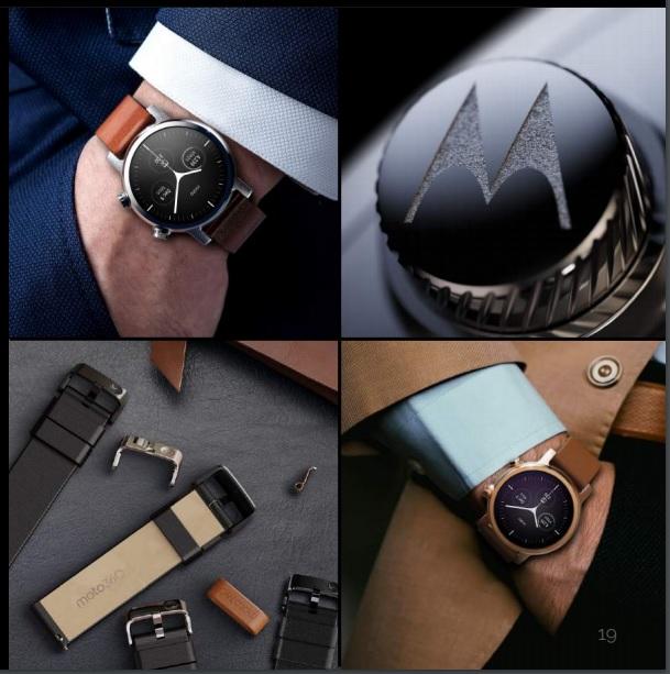 ساعت های هوشمند موتورولا