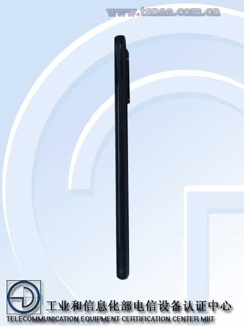 Redmi K40 Pro TENAA side b