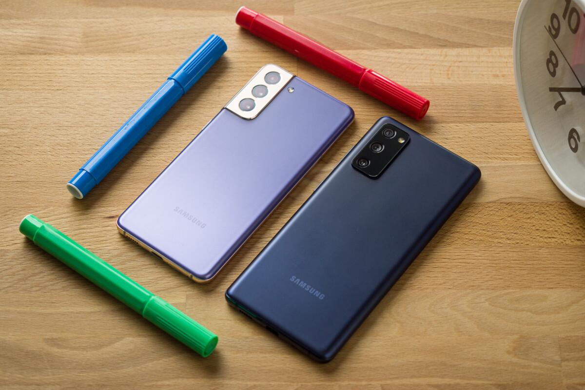 Samsung Galaxy S21 vs Galaxy S20 FE