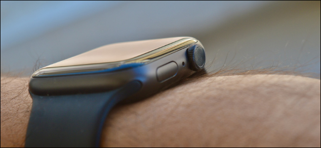 Side Button on Apple Watch