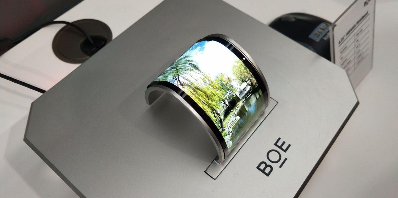 BOE رتبه 1 جهانی تولیدکنندگان صفحه را دارد