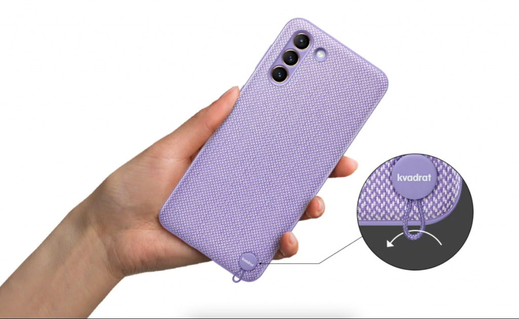 روکیدا   سامسونگ هند از کیس محافظ قابل بازیافت برای Galaxy S21+ 5G رونمایی کرد.   گلکسی