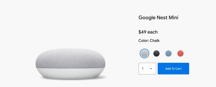 گوگل نست مینی -2