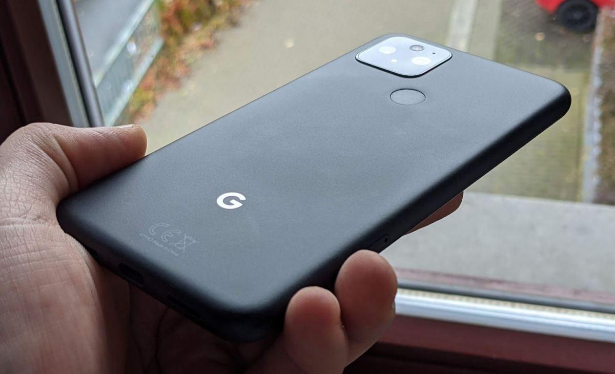 google pixel 5 rueckseite