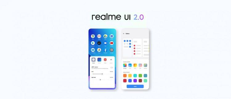 آپدیت Realme UI 2.0 برای گوشی ریلمی 7i