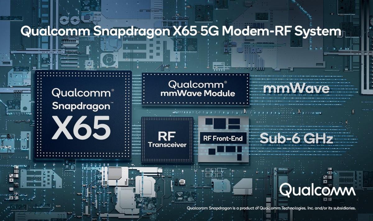 کوالکام X65 اولین مودم 5G با سرعت 10gbps در دنیا است