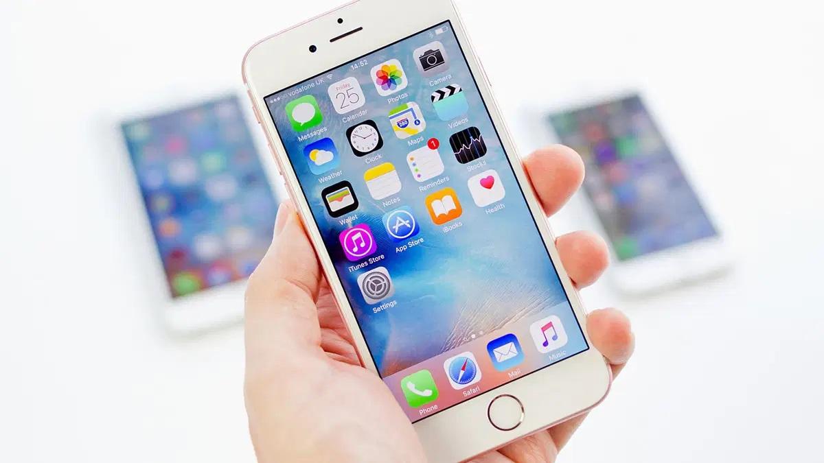 آیکونها را در iPhone جا به جا کنید