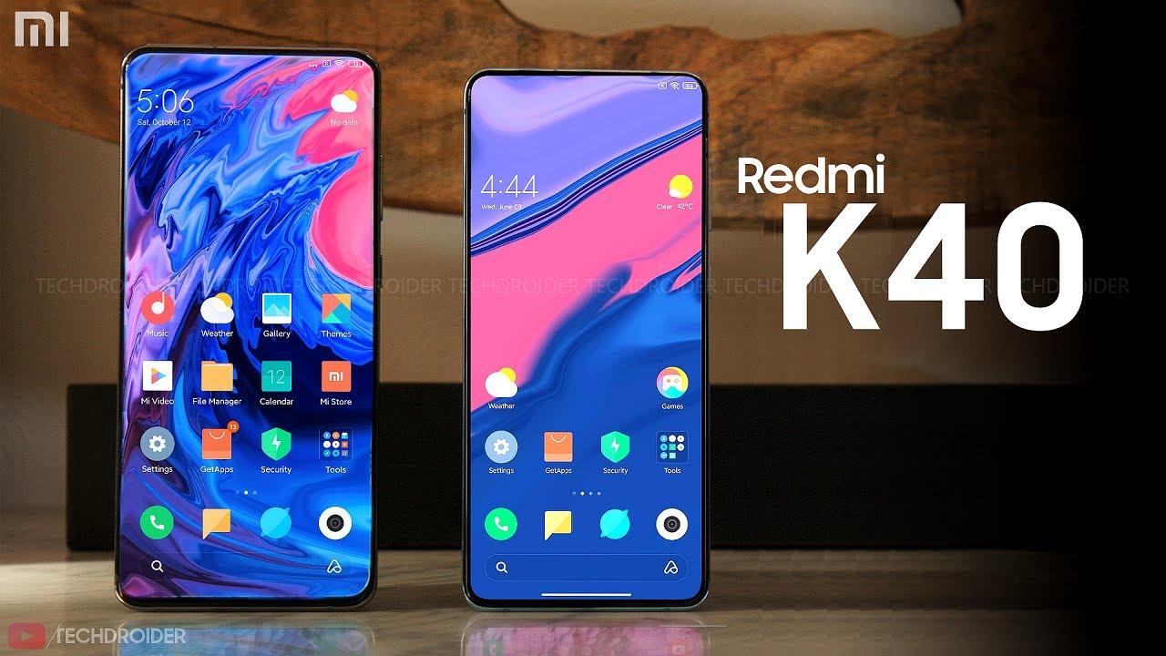 مشخصات گوشیهای Redmi k40 و Redmi k40 pro شیائومی