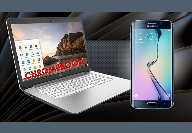 سیستم عامل کروم و نمایش صفحه گوشی
