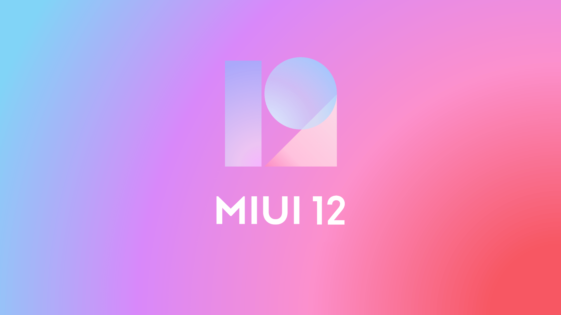 miui 12 offical poster