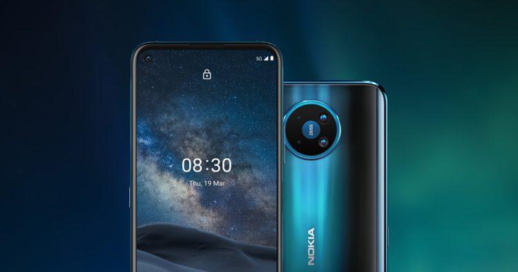 گواهی AER برای دو گوشی Nokia 8.3 5G و Nokia 5.4