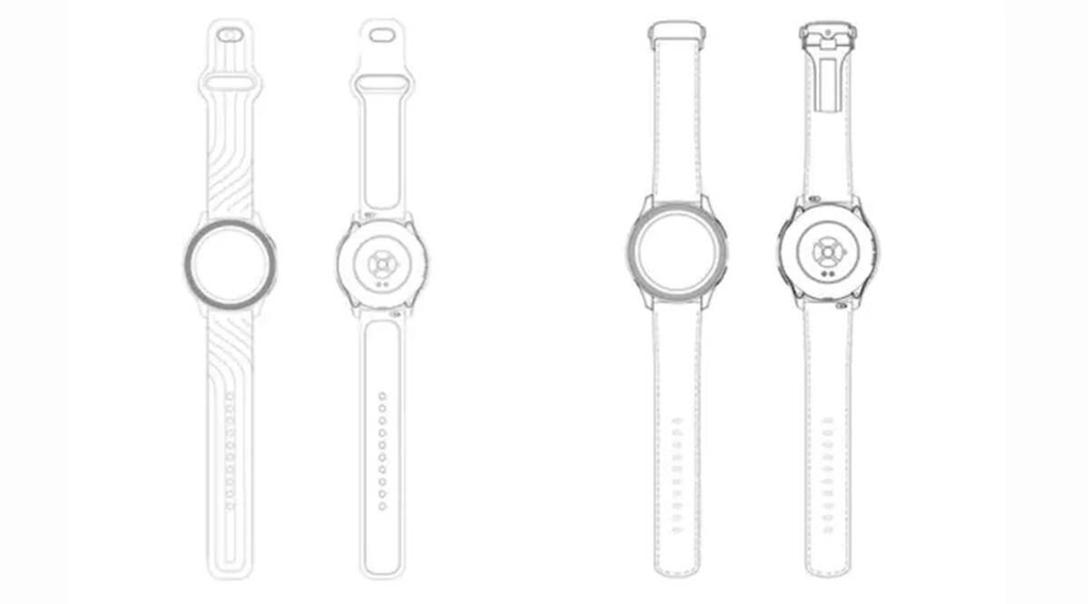 طراحی منتشر شده از ساعت هوشمند وان پلاس