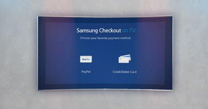 samsung checkout on tv 2 1