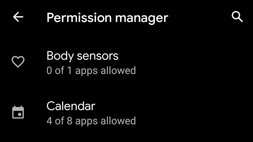 کنترل مجوزهای دسترسی اپلیکیشنها