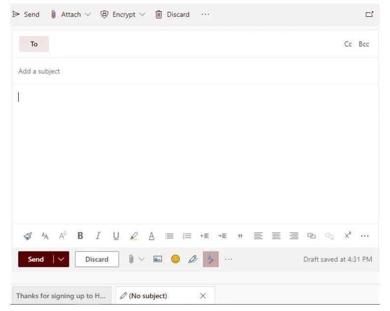 وارد کردن گیف به ایمیل
