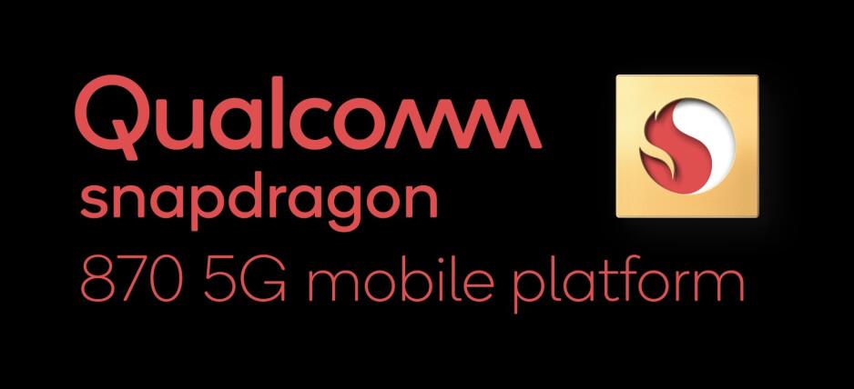 Logo Snapdragon 870 5G Mobile Platform