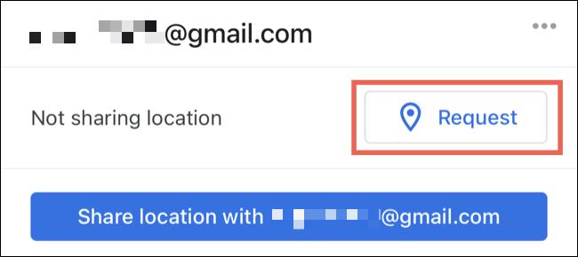 ایمیل موقعیت در گوگل مپ