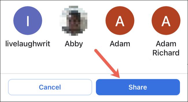 اشتراک موقعیت در گوگل مپ