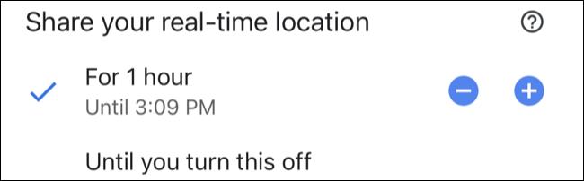 زمانبندی در گوگل مپ
