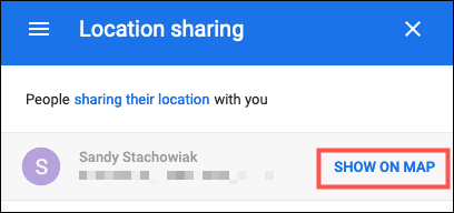 نمایش در گوگل مپ آنلاین