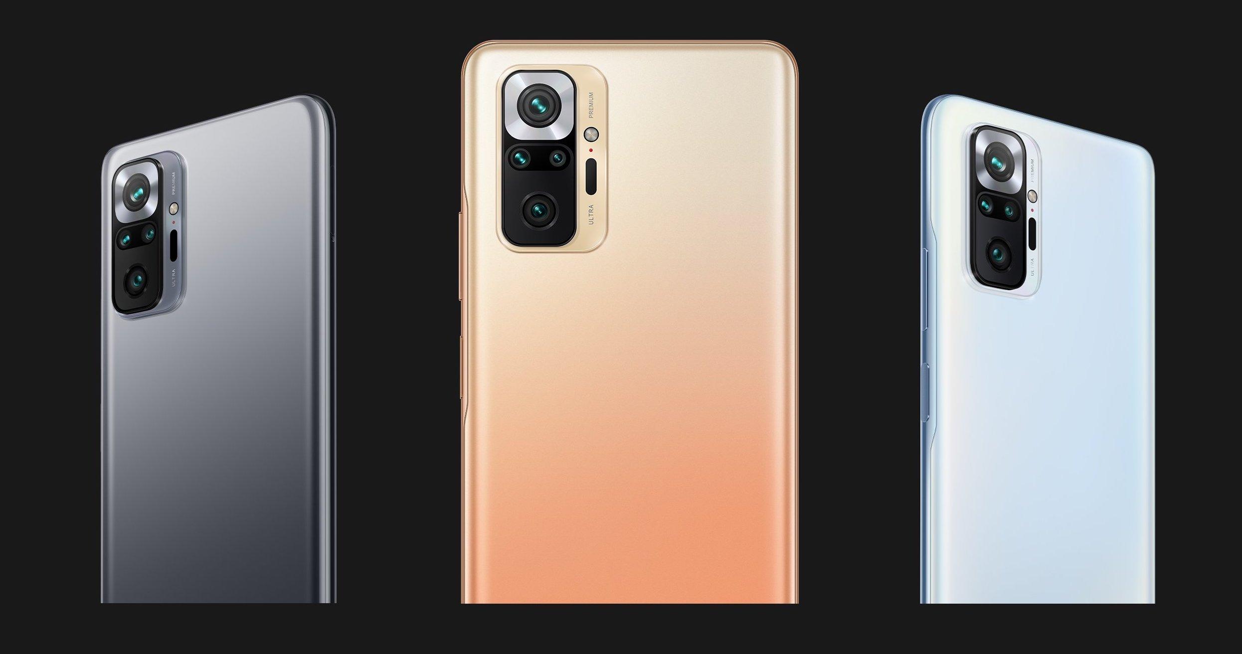 Xiaomi Redmi Note 10 seires