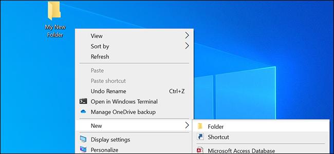 change default folder name featured 1