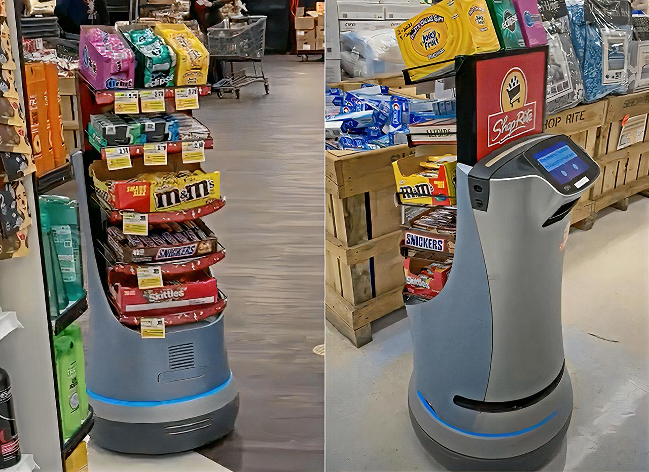 ربات شکلات فروش