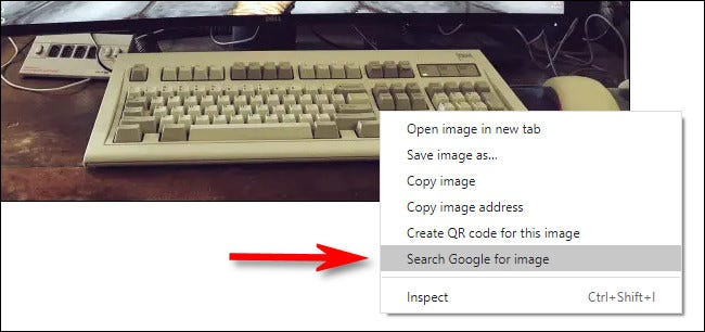 پیدا کردن سایز دیگر تصاویر در گوگل کروم