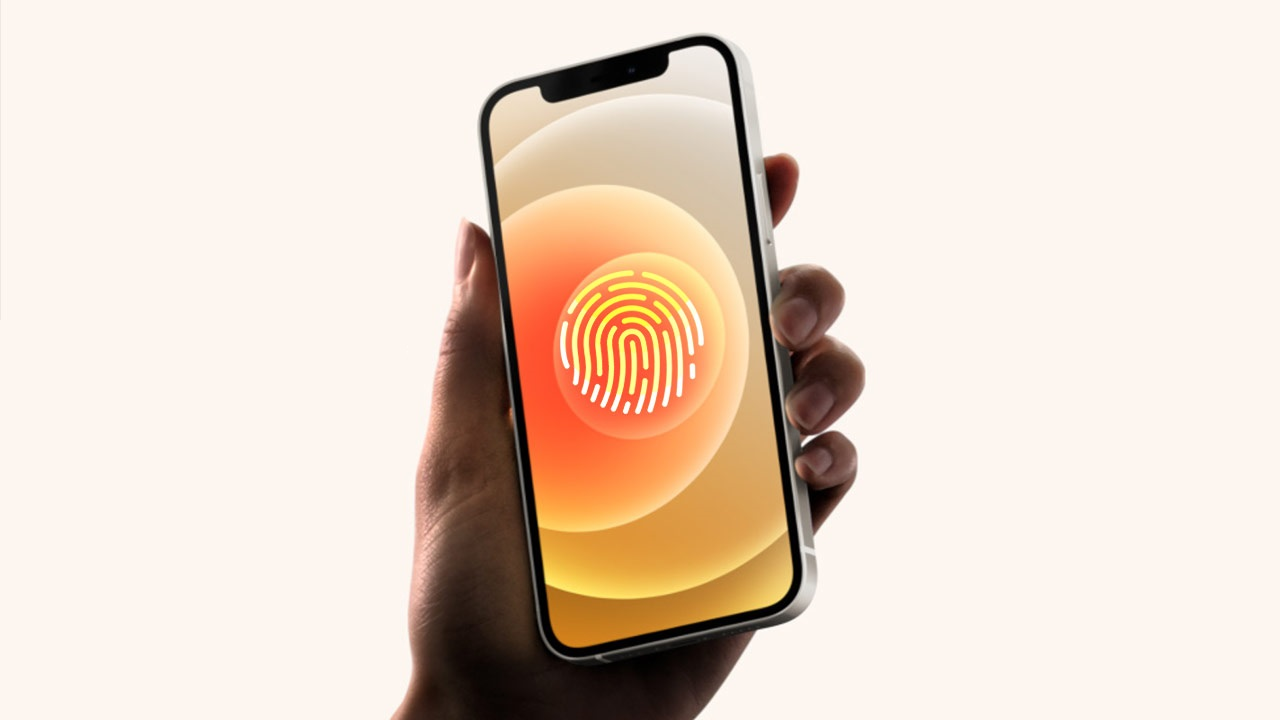 wsj nder screen touch id iphone