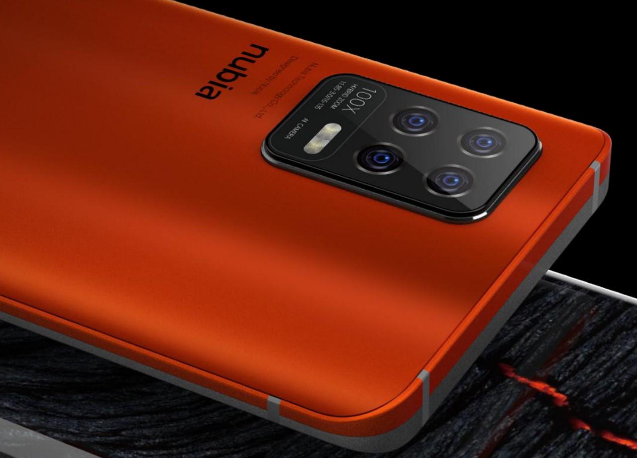 تصویر جدید گوشی نوبیا زد 30 طراحی دو رنگی جالبی را نشان میدهد