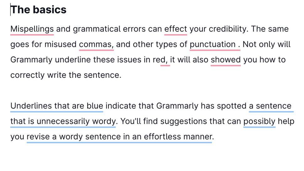 حتماً اشتباهات داکیومنتها را بخوانید و به دنبال یک ابزار مفید برای کمک به نوشتار باشید