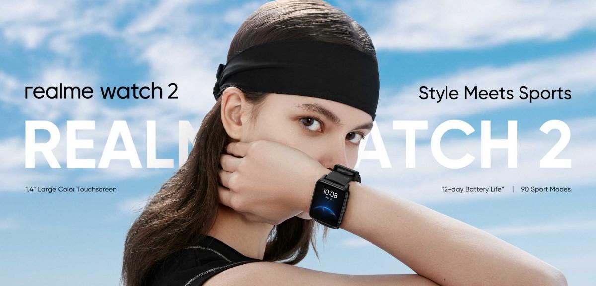 ریلمی از ساعت هوشمند ریلمی واچ 2 رونمایی کرد