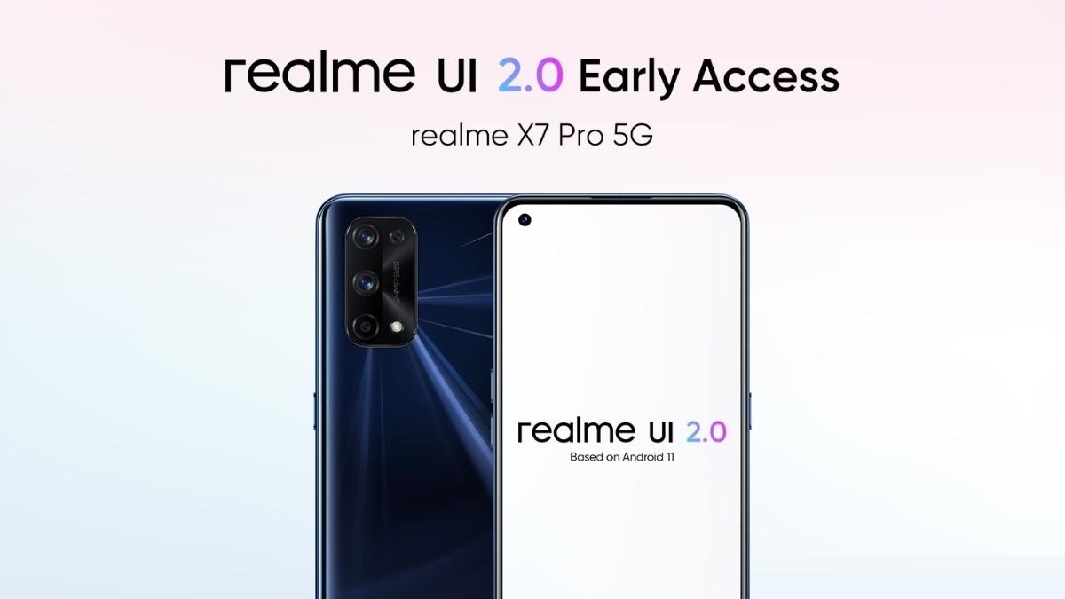ریلمی طرح دسترسی به رابط کاربری Realme UI 2.0 را معرفی کرد